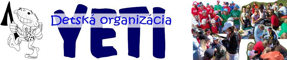 Detská organizácia YETI Bratislava